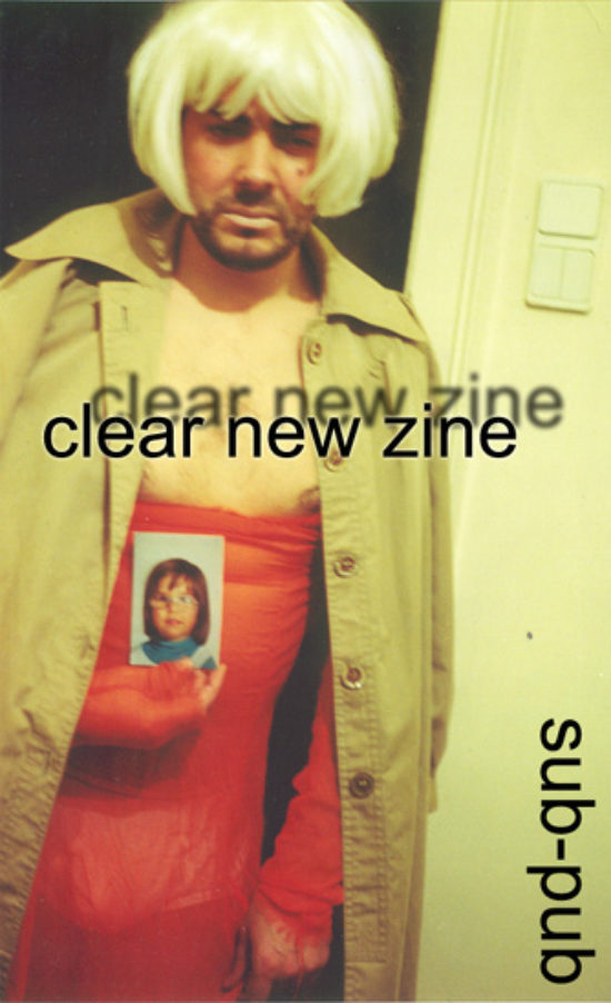 Fanzine - Clear New Zine (soon)